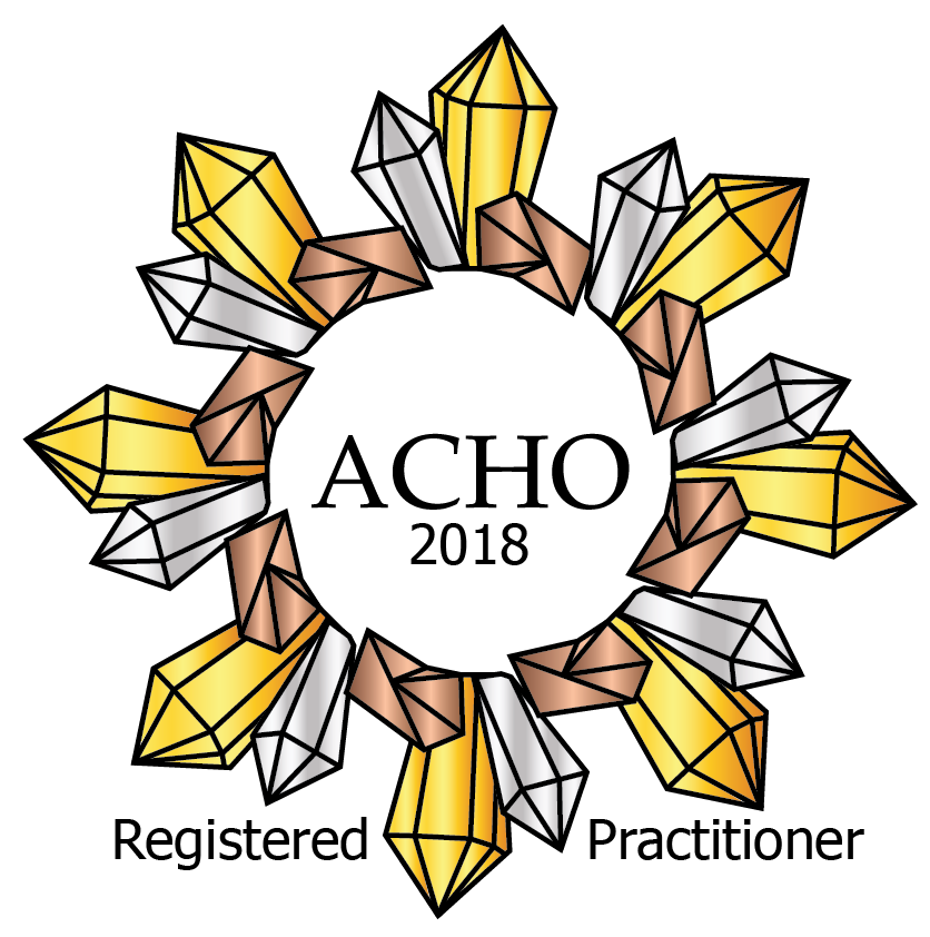 Affiliation of Crystal Healing Organisations (ACHO) logo